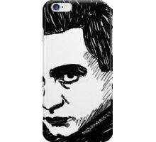 Just A Man In Black iPhone Case/Skin