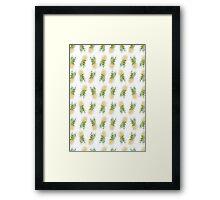 Pineapples are Fresh Framed Print