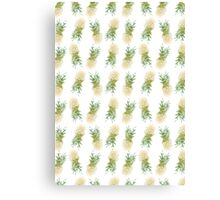Pineapples are Fresh Canvas Print