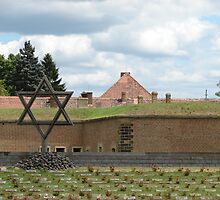 Jewish Cemetery III. - Fort Terezín (National Suffering Memorial) by Natas