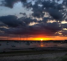 Mersea Sunset 3 by backfocus