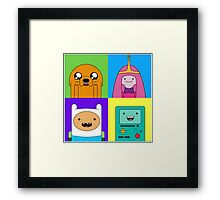 Adventure Time Friends Framed Print