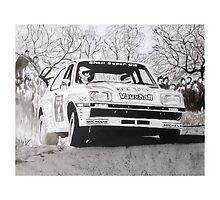 Vauxhall Chevette HSR Works Rally Car by sidfox