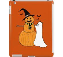 Pumpkin Snowman iPad Case/Skin