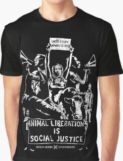 Liberation (white) Graphic T-Shirt