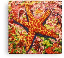 Star Fish 3 Canvas Print