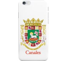 Canales Shield of Puerto Rico iPhone Case/Skin