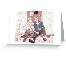 Namjin  Greeting Card