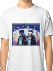 Dogs in Space Classic T-Shirt