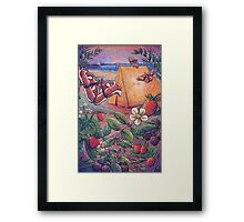 Goji Beach Framed Print