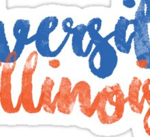 University of Illinois Sticker