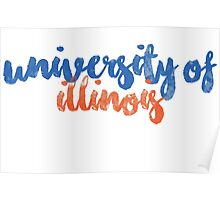 University of Illinois Poster