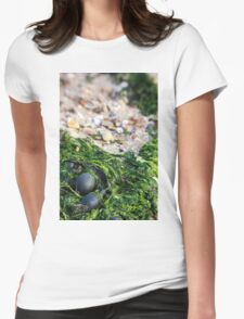 Mersea Seaweed Womens Fitted T-Shirt