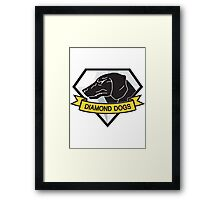 Diamond Dogs (MGSV) Framed Print