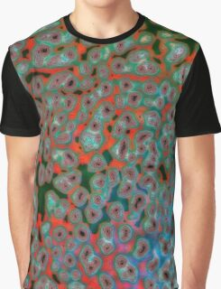 Psychedelic Mushroom 2 Graphic T-Shirt