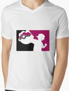 poke Mens V-Neck T-Shirt