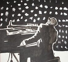 Ray Charles by Colin  Laing