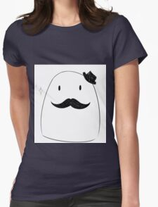 Mr. Mustache Womens Fitted T-Shirt