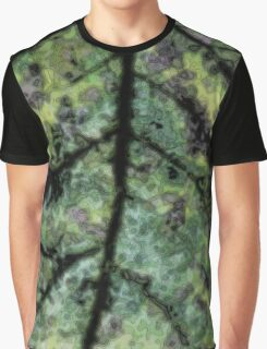 Psychedelic Leaf 2 Graphic T-Shirt