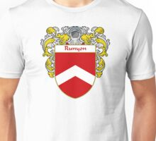 Runyon Coat of Arms / Runyon Family Crest Unisex T-Shirt