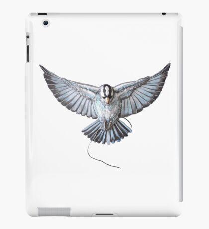 Swallow in relief iPad Case/Skin