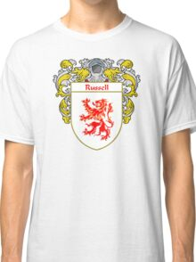 Russell Coat of Arms / Russell Family Crest Classic T-Shirt