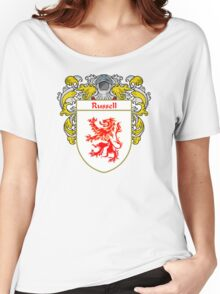 Russell Coat of Arms / Russell Family Crest Women's Relaxed Fit T-Shirt