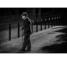 Lonely  are the streets at night Photographic Print