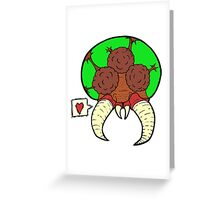 Metroid love Greeting Card