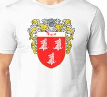Ryan Coat of Arms / Ryan Family Crest Unisex T-Shirt