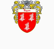 Ryan Coat of Arms / Ryan Family Crest Unisex T-Shirt