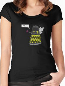 Bee Dalek  Women's Fitted Scoop T-Shirt