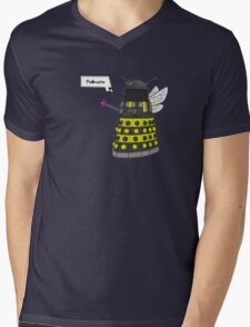Bee Dalek  Mens V-Neck T-Shirt