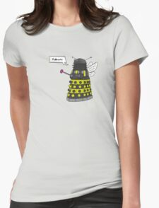 Bee Dalek  Womens Fitted T-Shirt