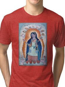 Virgen de Cocina (Kitchen Virgin) Tri-blend T-Shirt
