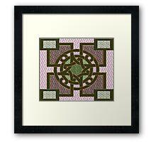 Symbols of the gods Framed Print