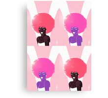 Sober in Pink Canvas Print