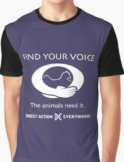 Find Your Voice Graphic T-Shirt