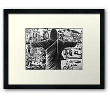 Authentic Brazil Framed Print