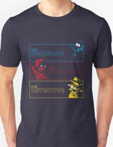 The Alternate Egos of Calvin Unisex T-Shirt