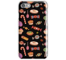 Candy & Bonbon (black) iPhone Case/Skin