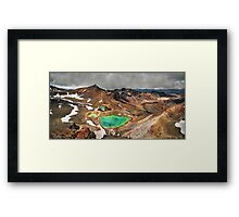 Tongariro Crossing Framed Print