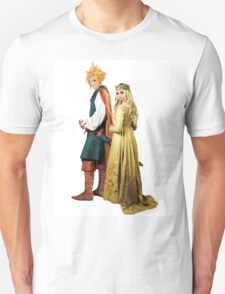 Aerith/Cloud as Aurora and Philip in Maleficent T-Shirt