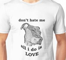 Pitbull Love Unisex T-Shirt