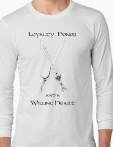 Thorin Oakenshield : Loyalty Long Sleeve T-Shirt