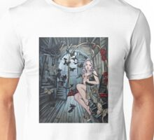 The gilded cage steampunk art Unisex T-Shirt