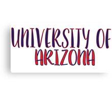 University of Arizona Canvas Print