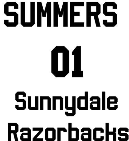 Summers unofficial chosen one jersy Sticker