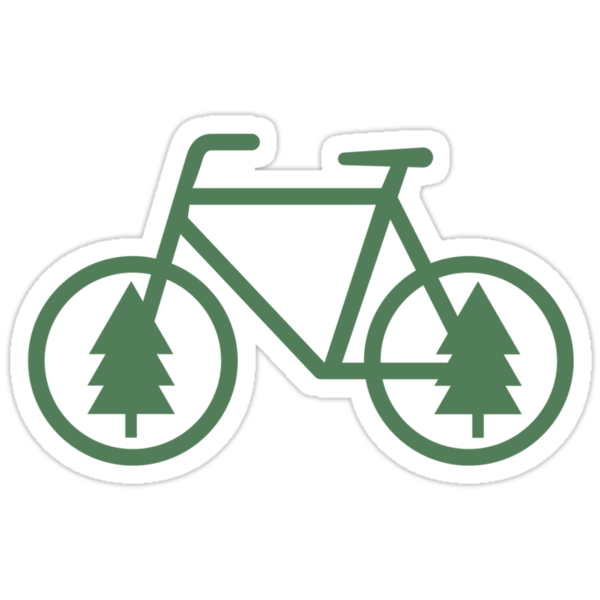 Pacific Northwest Bike - Pine Tree Bicycle - Cycling by CorrieJacobs