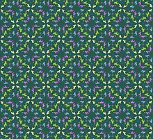Pattern with French Bulldogs by Doggenhaus